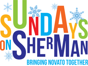 Sundays on Sherman Winter Logo for Banner