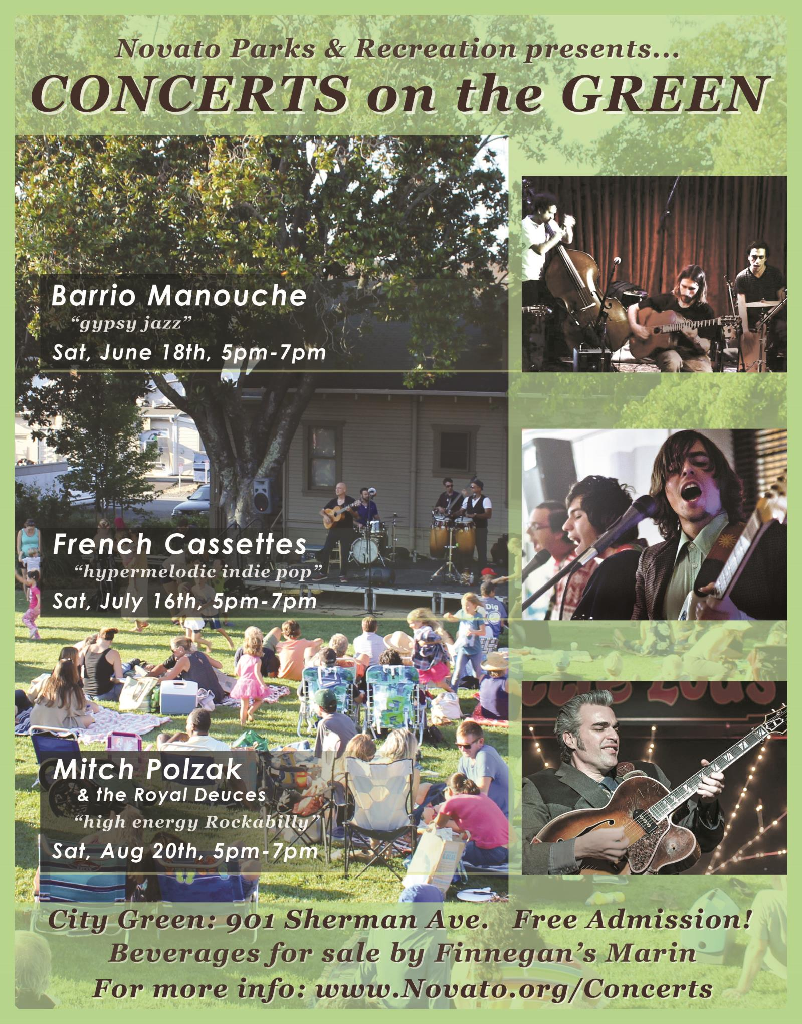 Novato Concerts On The Green - FINAL