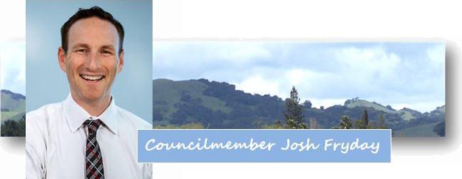 Councilmember Josh Fryday